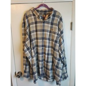 NWT-BIG Men's Button Up Shirt